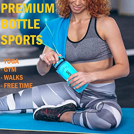 Amazon.com: Botella de agua deportiva de Artisan, botella de ...