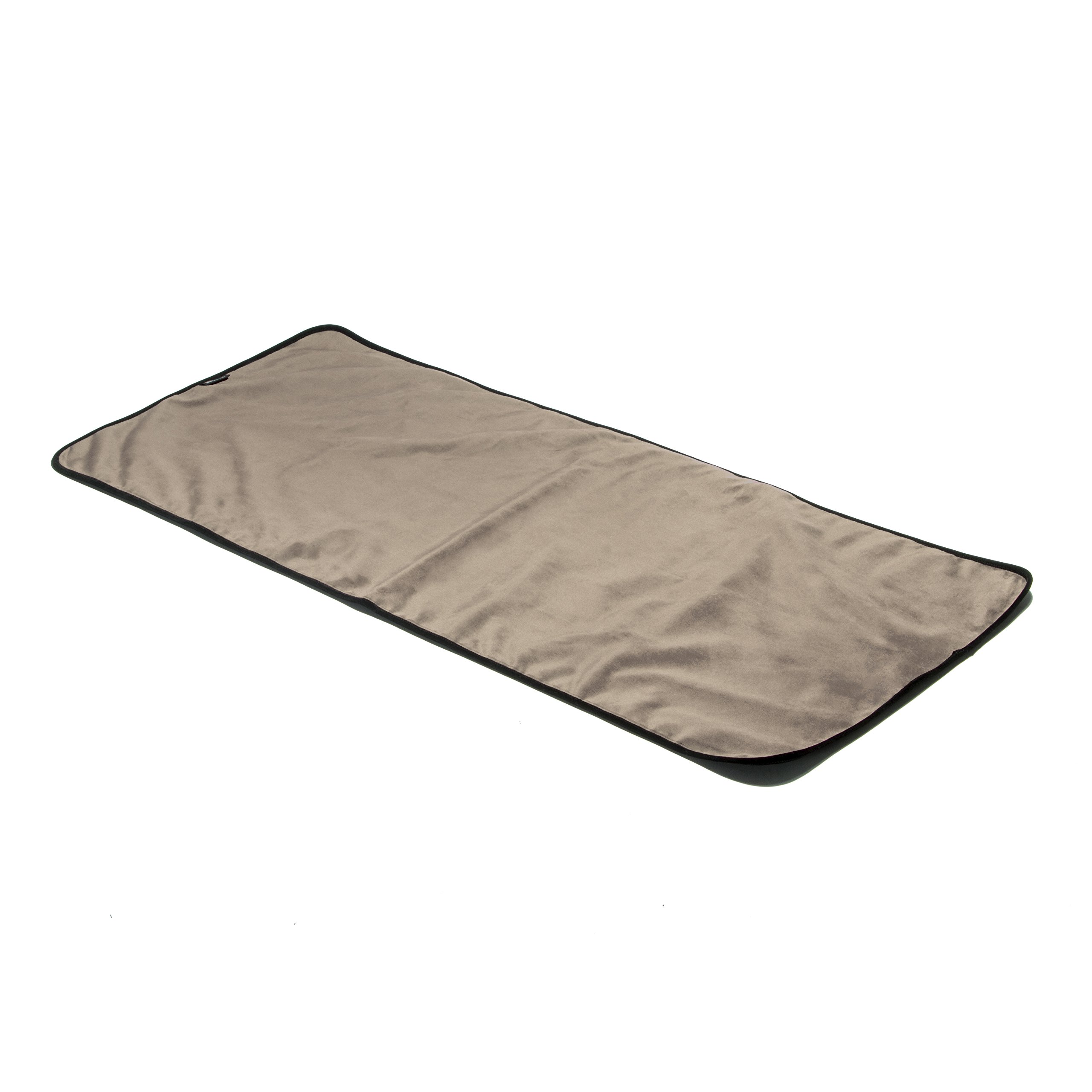 Liberator Throe Moisture Resistant Sex Blanket, Travel-Size, Buckwheat