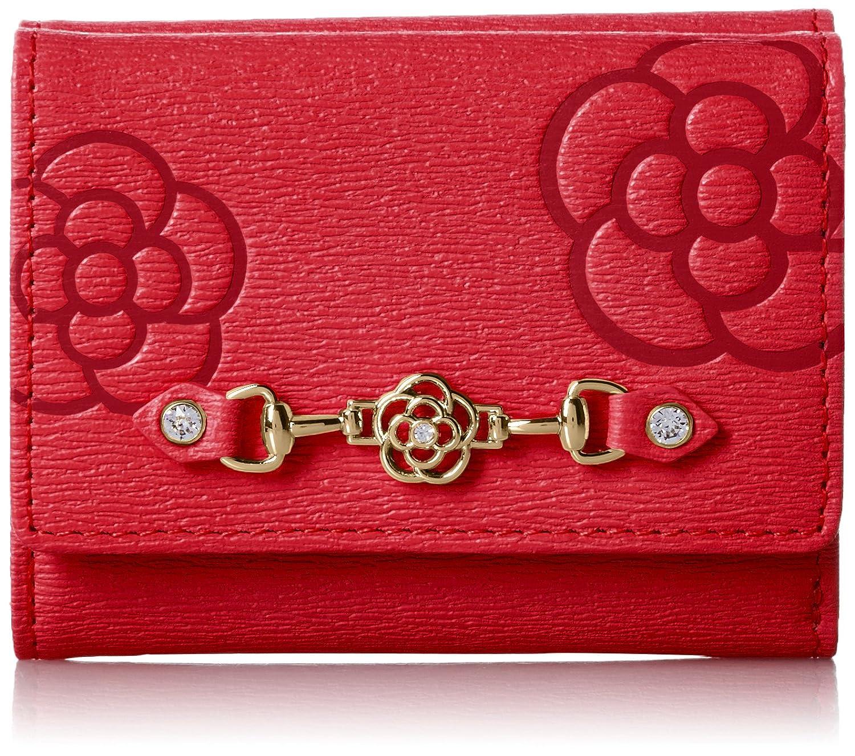 [クレイサス] 三つ折り財布 【新色】レティーロ 187013 B01KL8EK1K レッド レッド