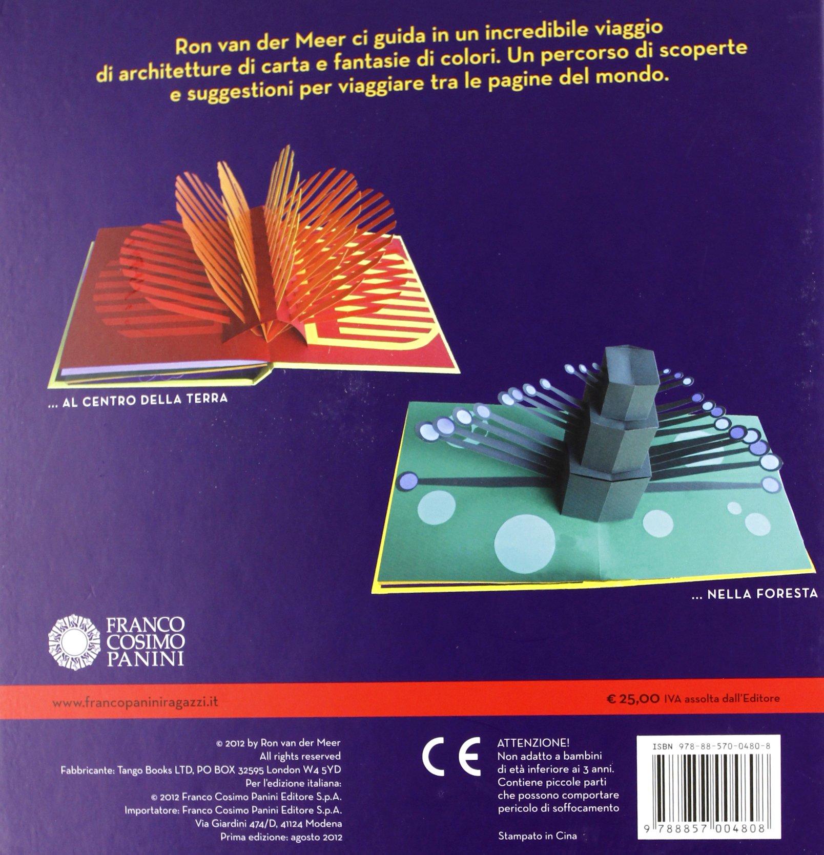 Un viaggio... Libro pop-up. Ediz. illustrata I pop-up: Amazon ...