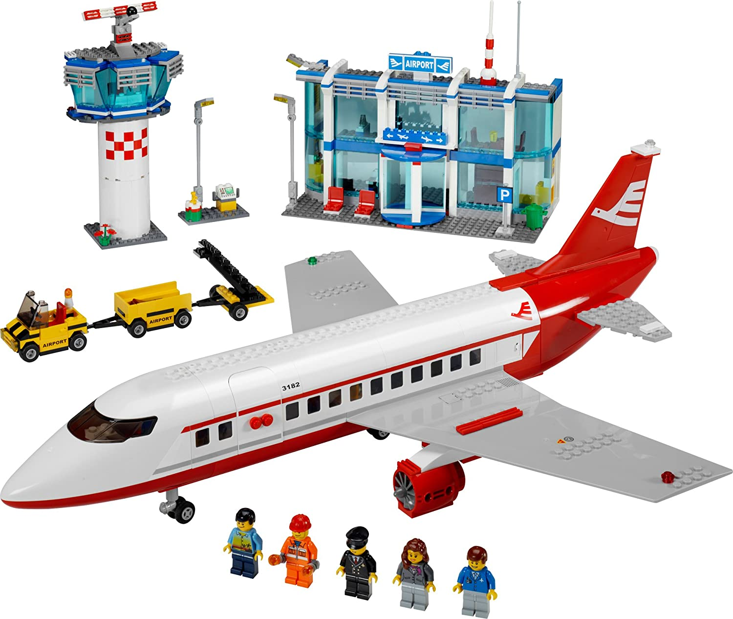 Amazoncom Lego City Airport 3182 Toys  Games