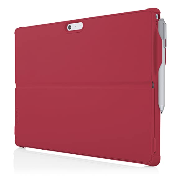 low priced e0d1c 4c9f1 Microsoft Surface Pro 4 Case, Incipio [Ultra Thin] [Snap On Case] Feather  [Hybrid] Case for Microsoft Surface Pro 4-Red