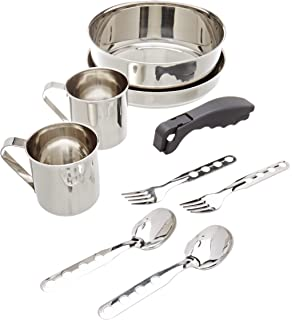 Laken Set de cocina acero inoxidable 18 cm: Amazon.es ...