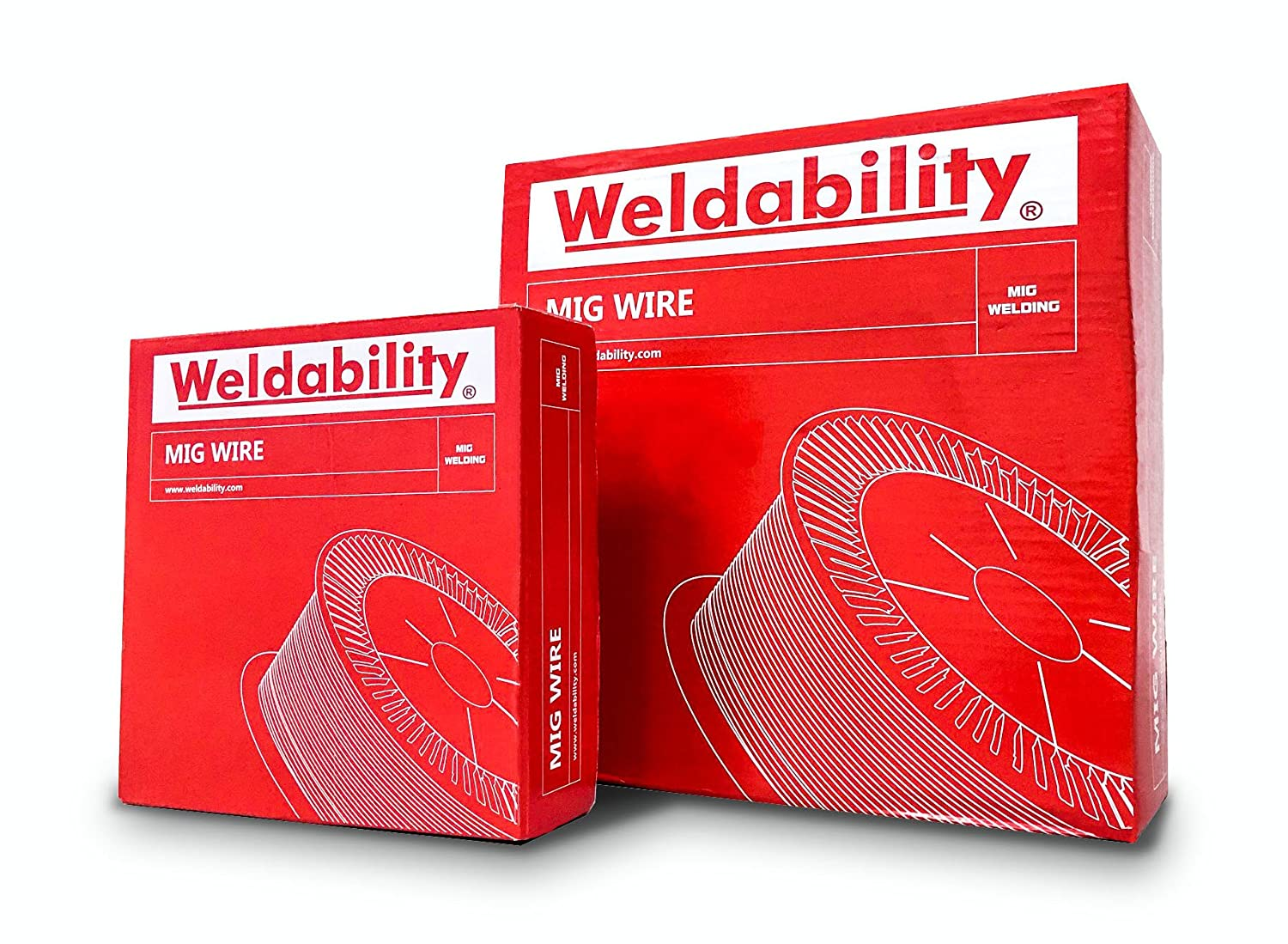 Pack of 2 Weldability Sif VZFC08045 Gasless Cored/MIG Wire 0.8mm 0.45kg