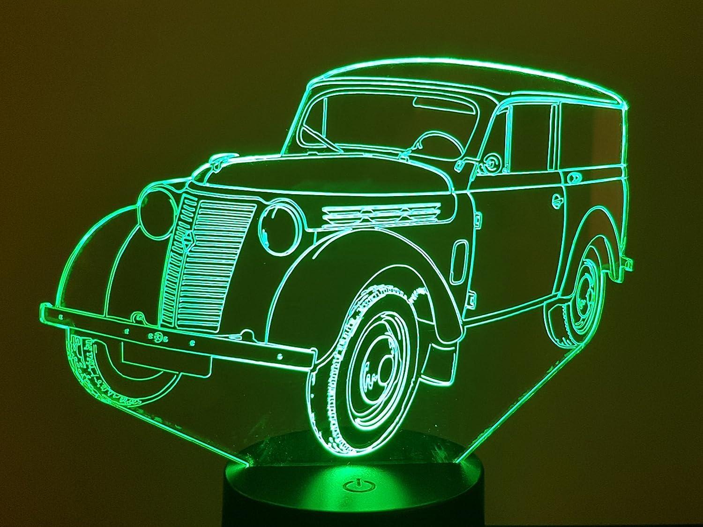 Lampe 3D Motif: Renault JUVA 4