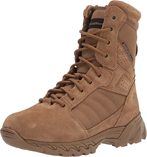 smith and wesson men's breach tactical size zip boots