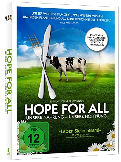 Hope for All. Unsere Nahrung - Unsere Hoffnung (PLASTIC-FREE Verpackung)