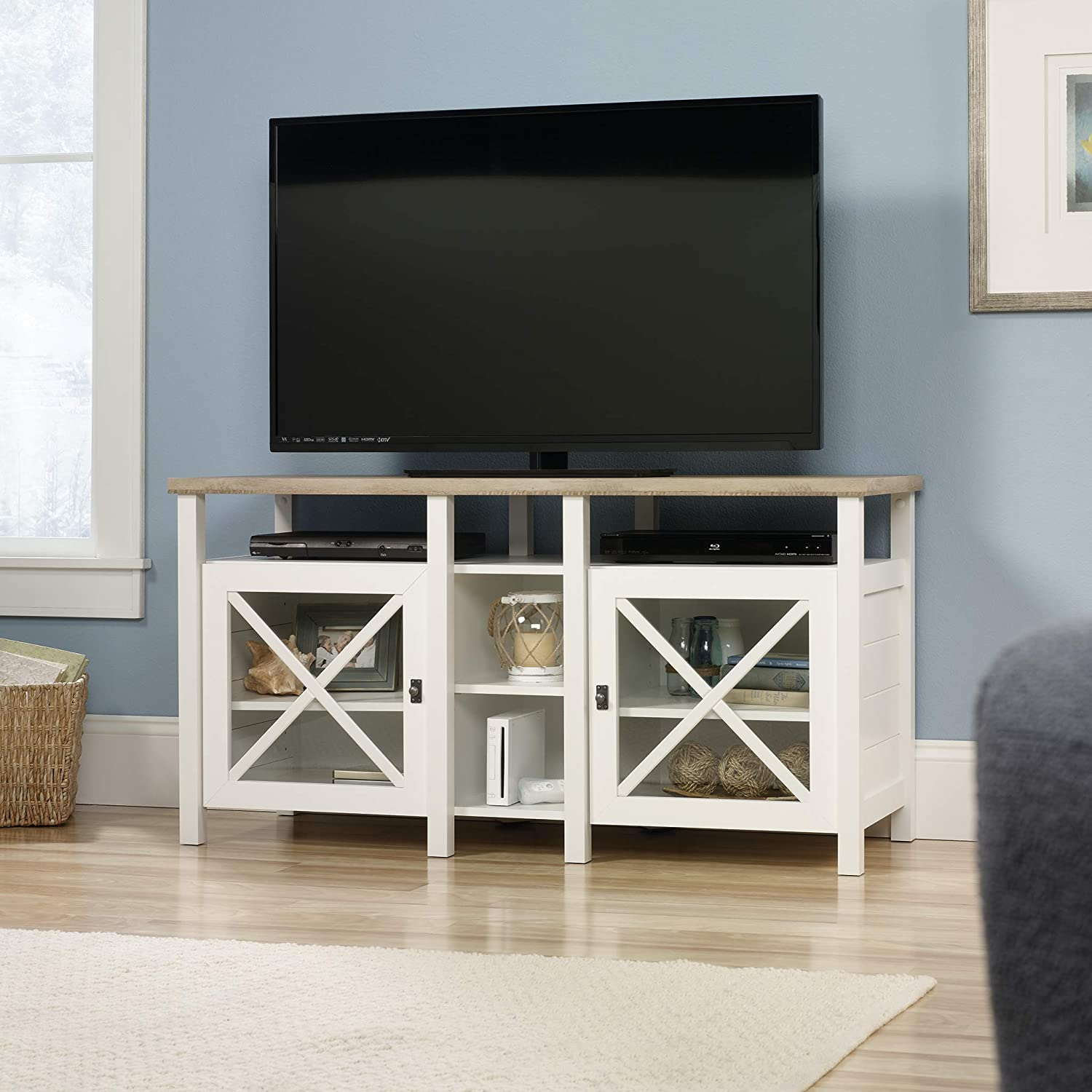 Sauder Cottage Road Entertainment Credenza, For TVs up to 50