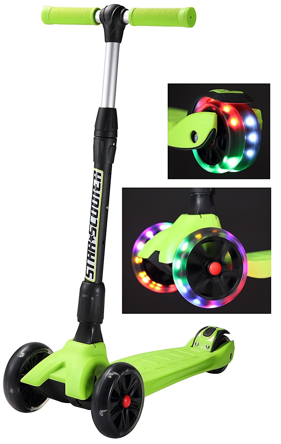 STAR-SCOOTER® Patinete Kick Cruiser con Efecto Genial de ...