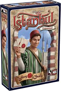Alderac Istanbul Letters & Seals Board Games