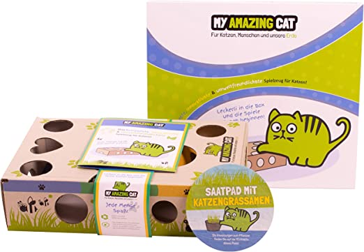 My Amazing Cat Juguete Interactivo para Gatos con Hierba para ...