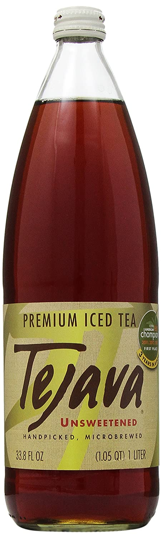Tejava, Tea Black Unsweetened, 33.8 Fl Oz