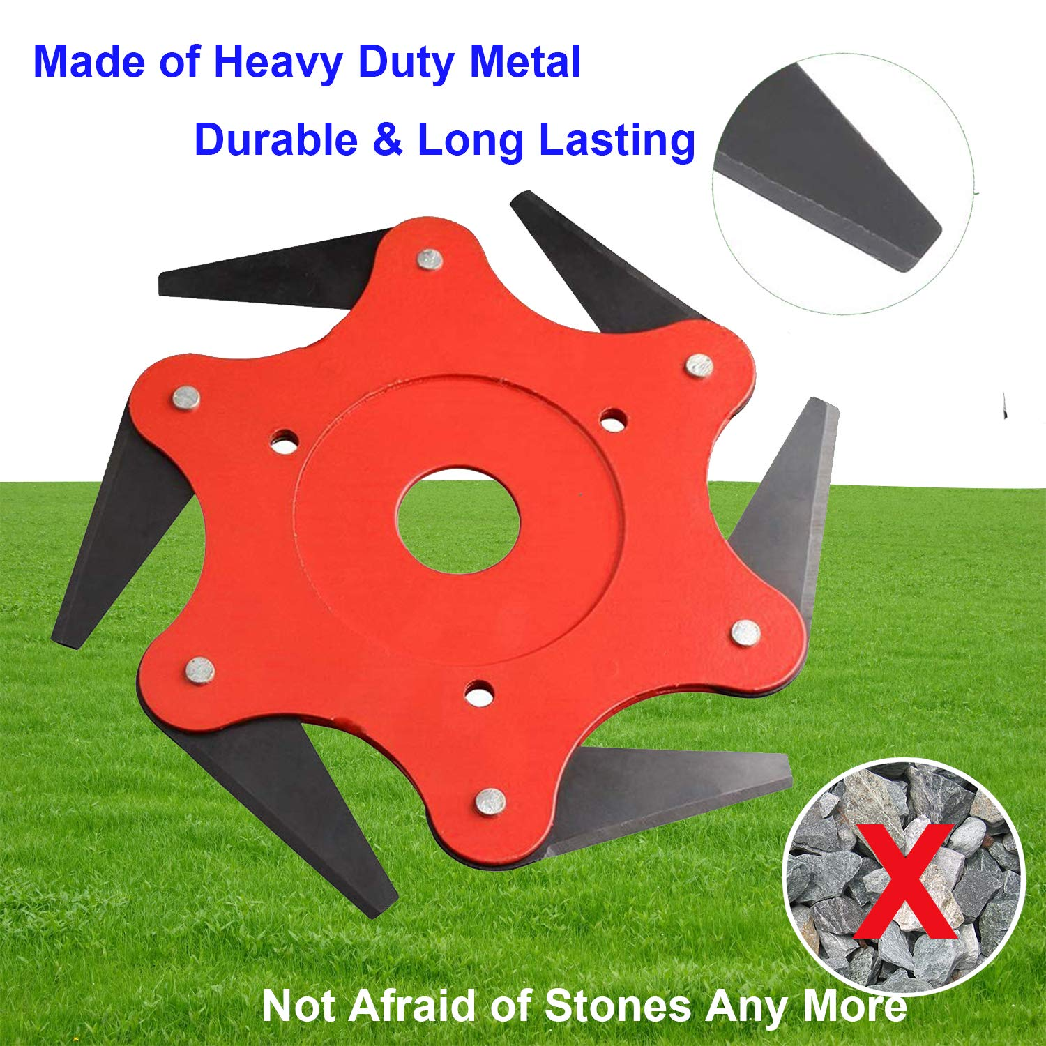 """Image result for powerful 6-Steel Blades Razors for Mower"""""""