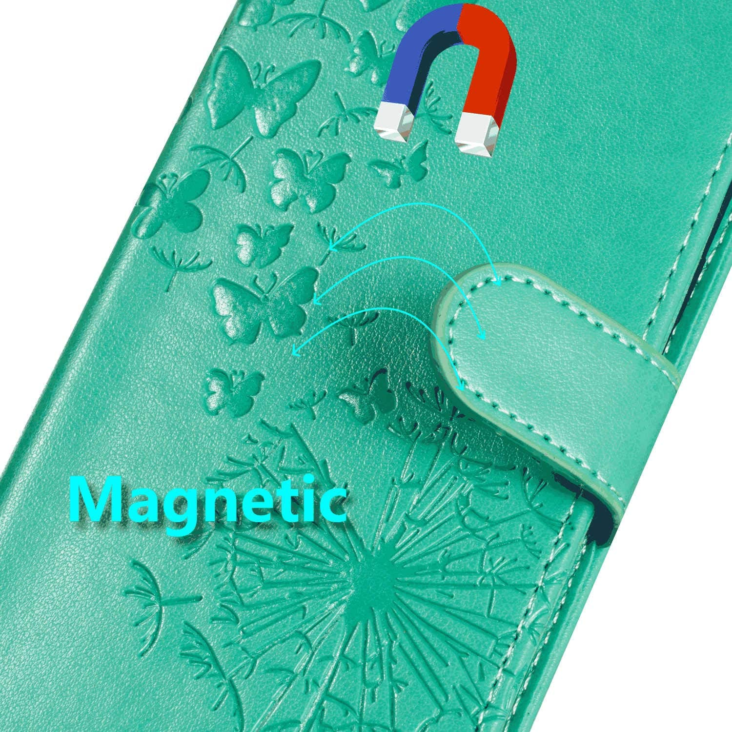 Cover for Leather Card Holders Cell Phone case Extra-Shockproof Business Kickstand Flip Cover iPhone 7 Flip Case
