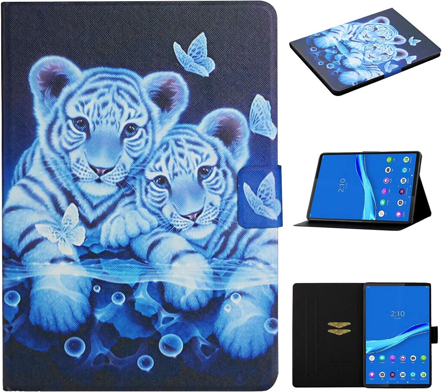 Case for Lenovo Tab M10 Plus (TB-X606F/TB-X606X), Elepower Lightweight Slim Premium PU Leather Folio Stand Cover with Auto Sleep/Wake for Lenovo Tab M10 Plus 10.3