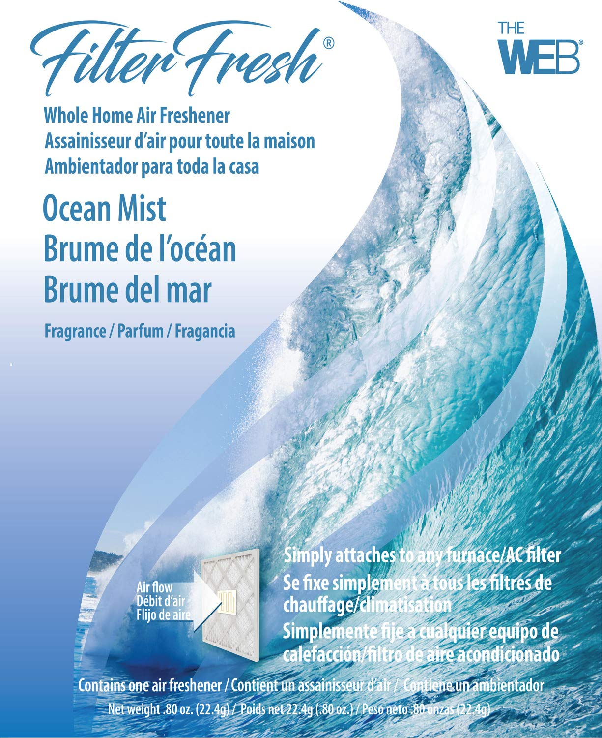 WEB FilterFresh Whole Home Ocean Mist Air Freshener WOCEAN