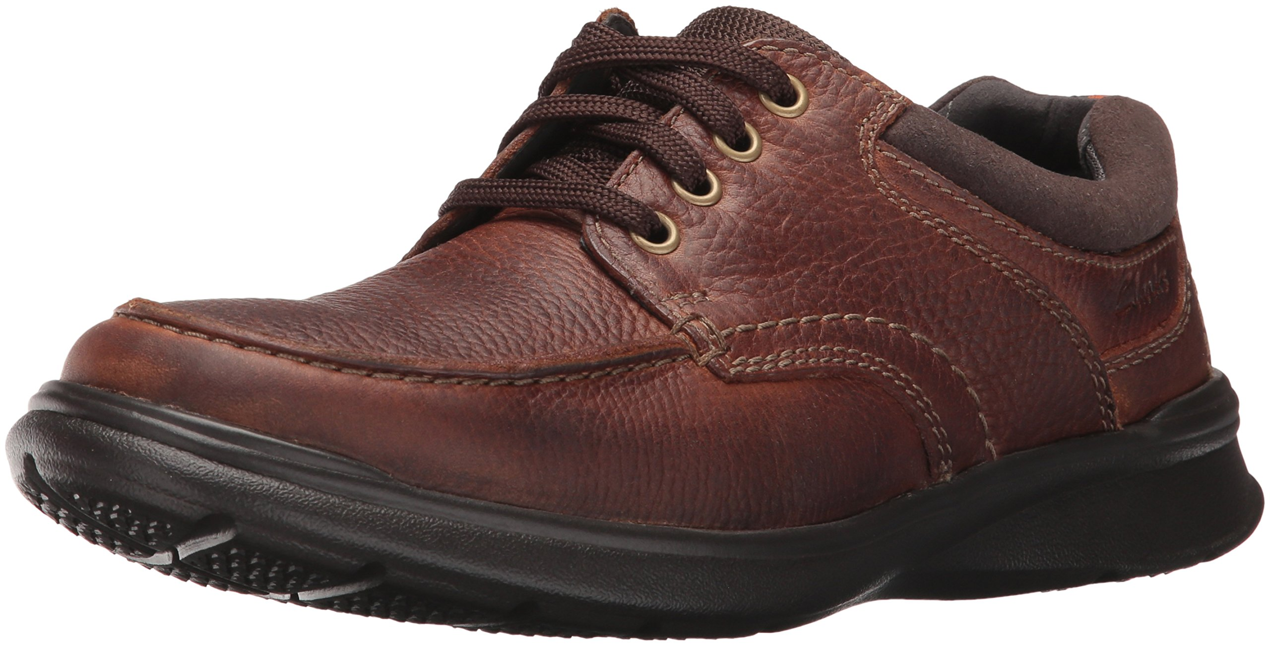 CLARKS Men's Cotrell Edge Oxford, Tobacco Oily, 10.5 M US by CLARKS