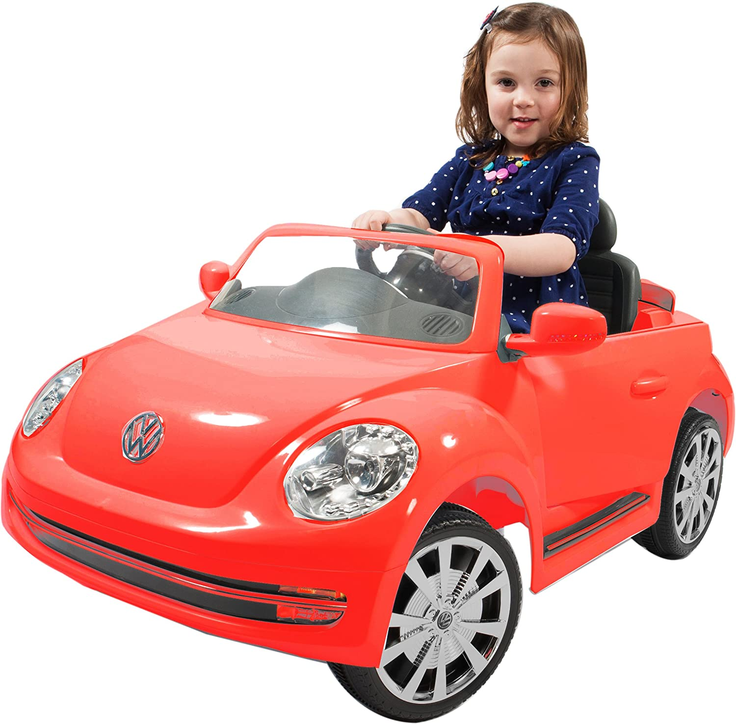 Amazon Rollplay VW Beetle 6 Volt Battery Powered Ride Red