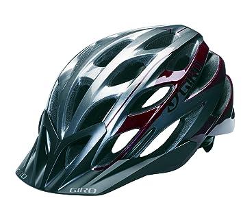 Giro Phase casco para bicicleta, Red/Titanium
