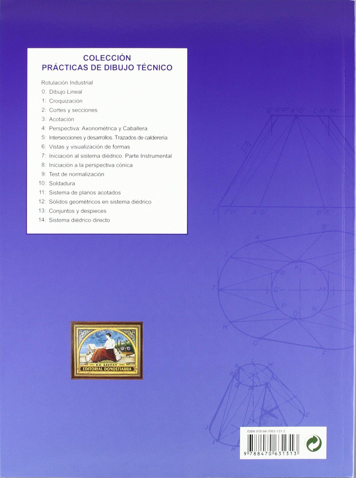 Prácticas de dibujo 5 : intersecciones y desarrollos: Víctor Álvarez Bengoa: 9788470631313: Amazon.com: Books