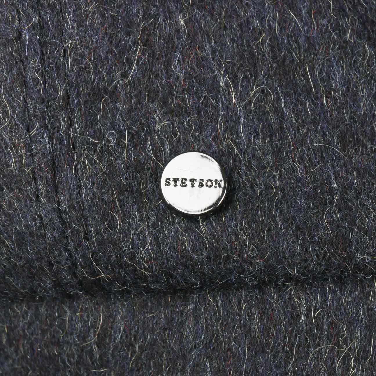 Stetson Hatteras Tyrolean Loden Flat Cap Men Made in Germany
