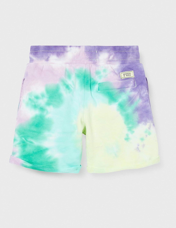 Scotch /& Soda Jungen Tie-Dye Sweat Shorts