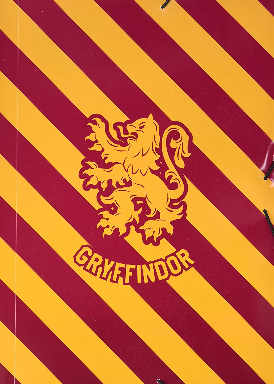 Harry Potter Gryffindor Erik CPPA4036 Cartellina con chiusura elastica angolare A4 Premium