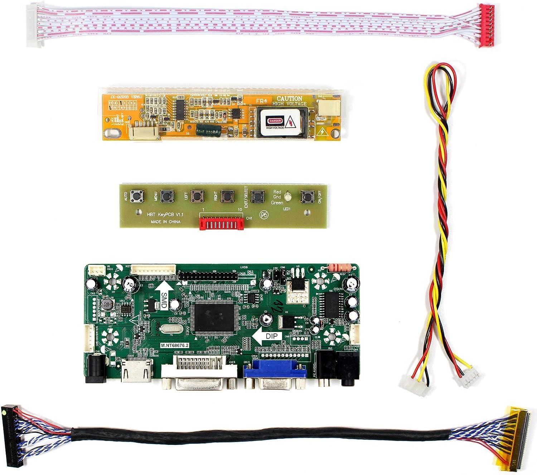 A4 1680X1050 LED panel Screen TV AV HDMI VGA Controller board kit for LP171W02
