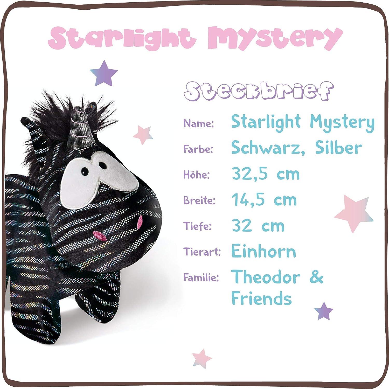 44955 NICI Doudou-Peluche Licorne Starlight Mystery 32cm