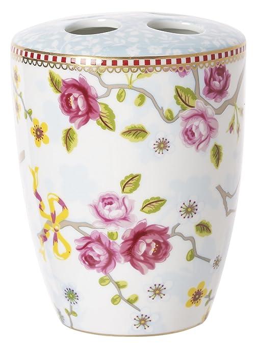 PiP Studio Chinese Blossom vaso para cepillos de dientes white