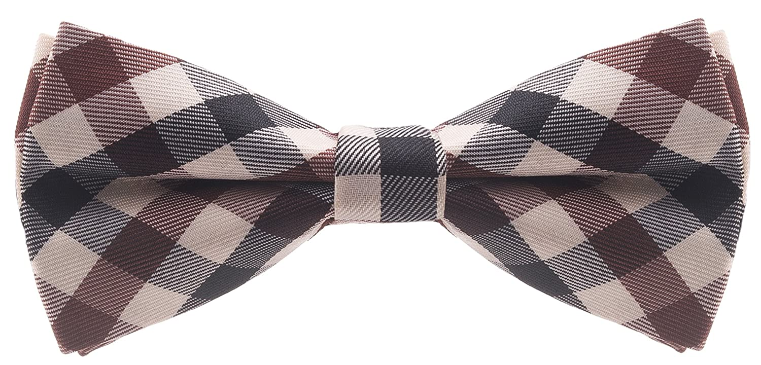 Premium Bow Ties Checkered Bowties Man of Men