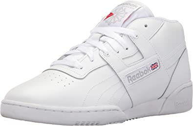 castigo reservorio colonia  Amazon.com | Reebok Men's Workout Mid Classic Sneaker | Fashion Sneakers