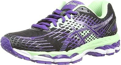 ASICS Gel-Nimbus 17 - Zapatillas de deporte para mujer, color negro, talla 42 EU: Amazon.es: Zapatos y complementos