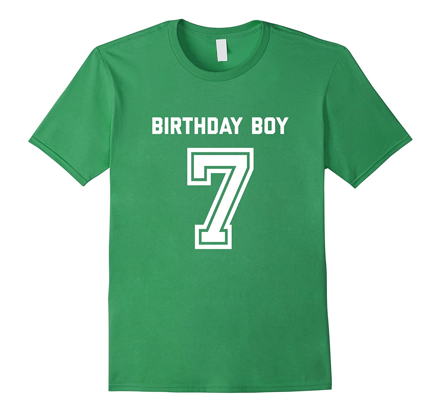 7th Birthday Shirt Gift Age 7 Year Old Boy Tshirt Boys Tee Ah My