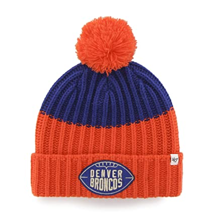 ... new coupon code for 47 nfl denver broncos cable knit vintage gridiron  founder knit hat 67c48 3b7ac ... 5a35d62e33e4