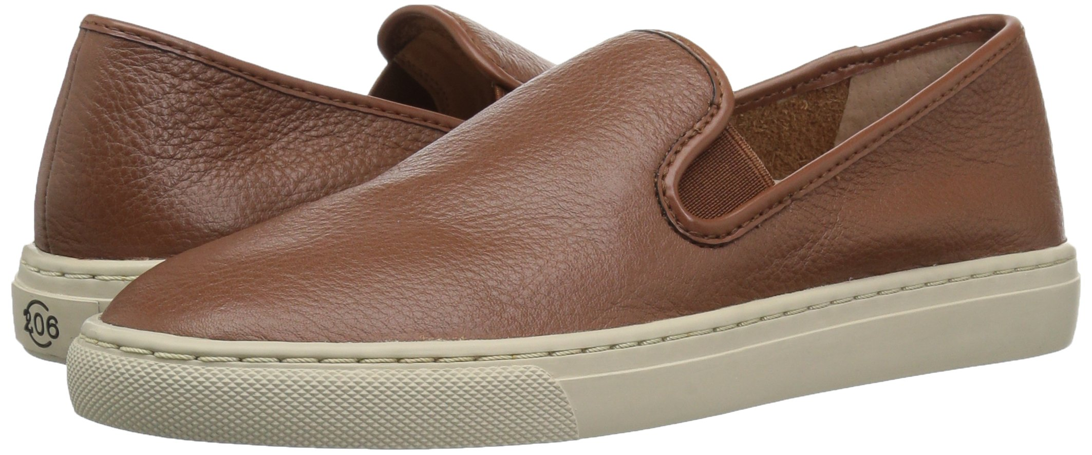 206 Collective Women's Cooper Perforated Slip-on Fashion Sneaker, Cognac Leather, 8.5 B US by 206 Collective (Image #5)