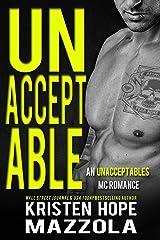 Unacceptable: An Unacceptables MC Standalone Romance Kindle Edition