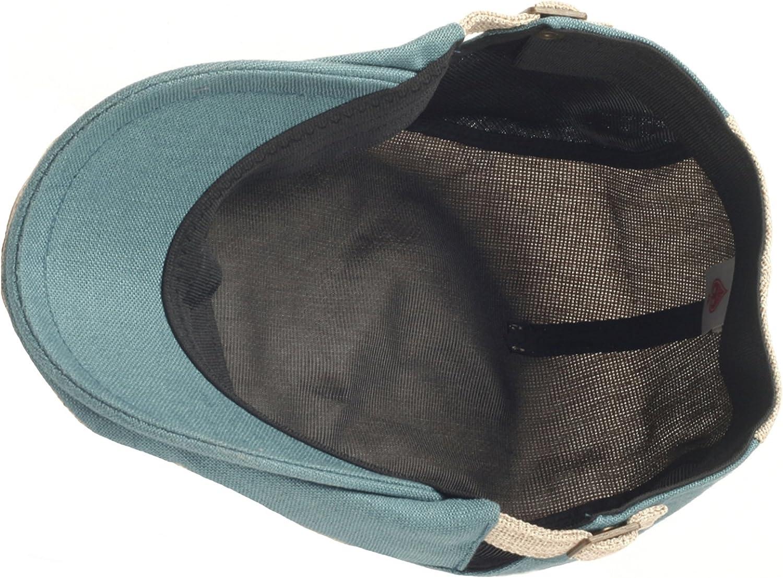 RaOn N14 Cool Ventilation Color Ivy Cap Cabbie Newsboy Beret Gatsby Flat Driving Hat