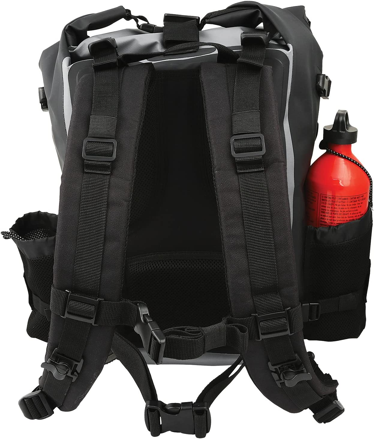 Northcore Surfing and Watersports Accessories Etanche Sprayproof Sac /à Dos Dry Bag 40Ltr Rouge