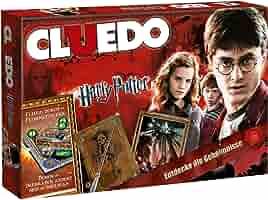 Winning Moves Cluedo Harry Potter Niños y Adultos Deducción - Juego de Tablero (Deducción, Niños y Adultos, 8 año(s), Alemán, Alemán, Interior): Amazon.es: Juguetes y juegos