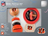 NFL Cincinnati Bengals Baby Rattle Set - 2 Pack