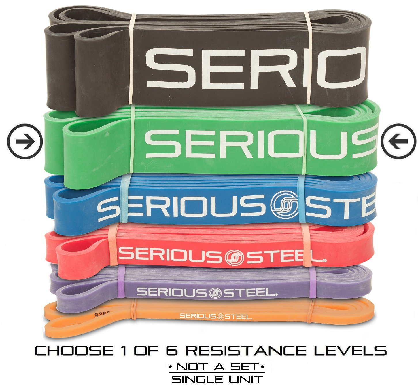 Serious Steel Fitness Assisted Pull Up Band