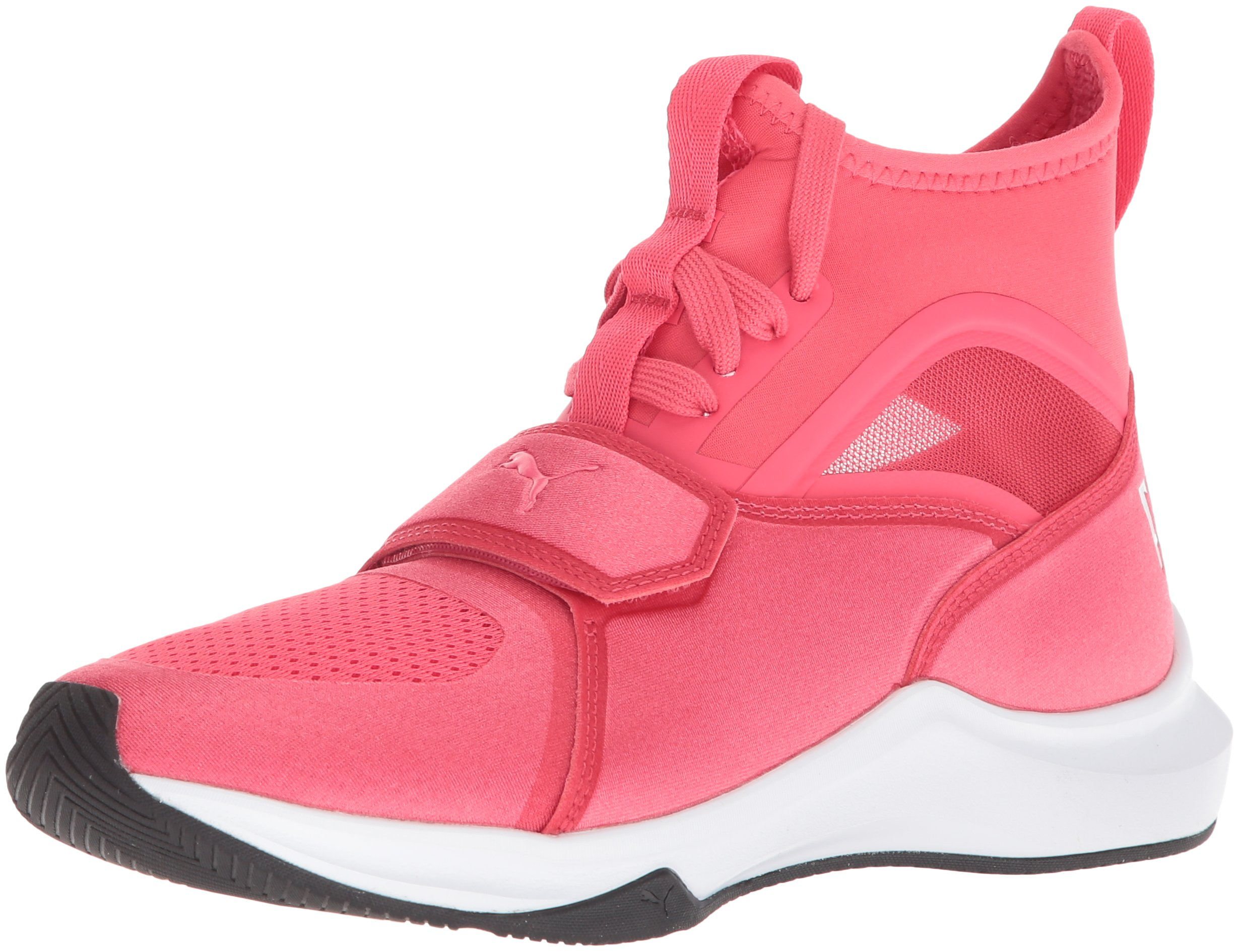 PUMA Women's Phenom Wn Sneaker, Paradise Pink White, 9 M US
