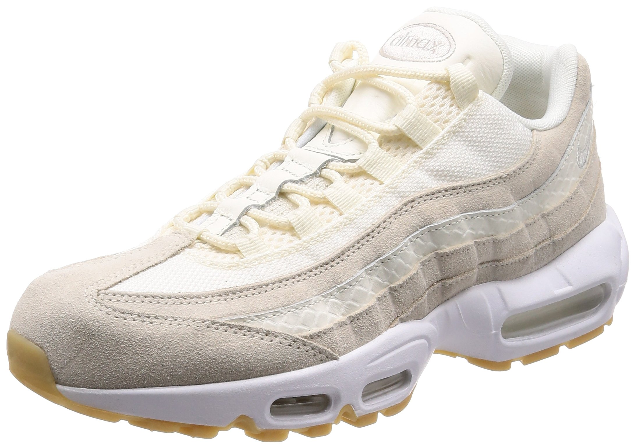 hot sale online 2be3c 43f9f Nike Air Max 95 Premium Men's Shoes Sail/Sail-Desert Sand/White 538416-102  (10.5 D(M) US)