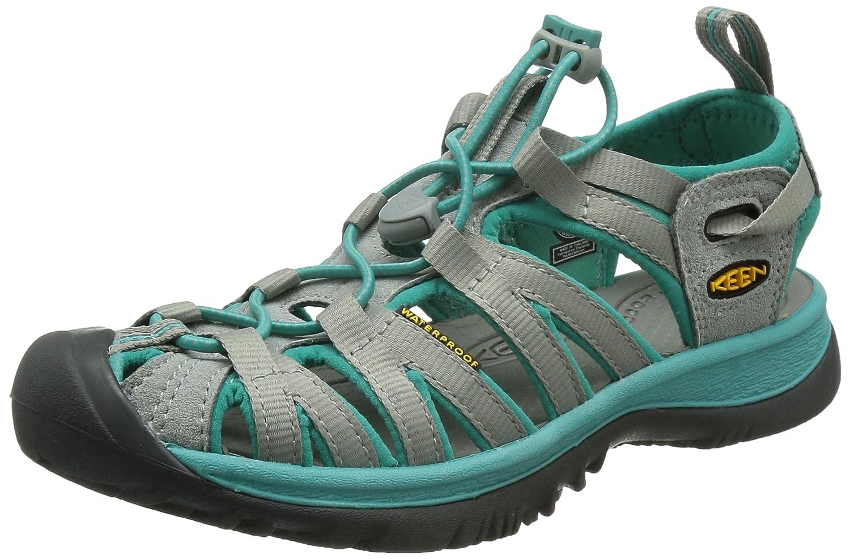 KEEN Whisper Sandal - Women's B00ZG2IHF2 6.5 B(M) US|Neutral Gray/Lagoon