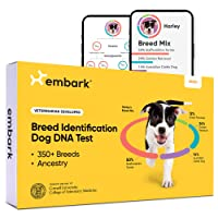 Deals on Embark Dog DNA Test, Breed Identification Kit DNB301