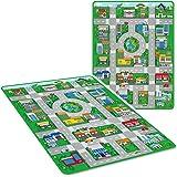 Marko Giant Kids City Playmat Fun Town Cars Play Road Carpet Rug EVA Foam Toy Mat (Jumbo)