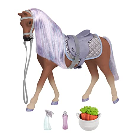 3c18f401bb9 Glitter Girls by Battat – Celestial 14-inch Morgan Horse - 14 inch Doll  Accessories