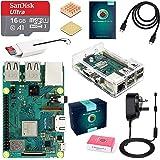 Raspberry Pi 3 B+ 16GB Retro Gaming Bundle with 2 SNES Style