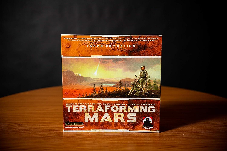 Stronghold Games STG06005 Terraforming Mars - Juego de Estrategia ...